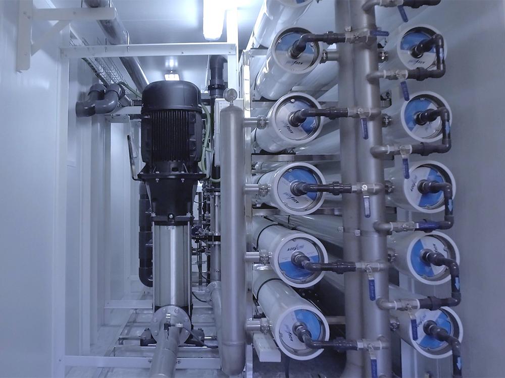 BIDATEK WATER SOLUTION concluye la fabricación de una planta desalinizadora de ósmosis inversa contenerizada para Qatar
