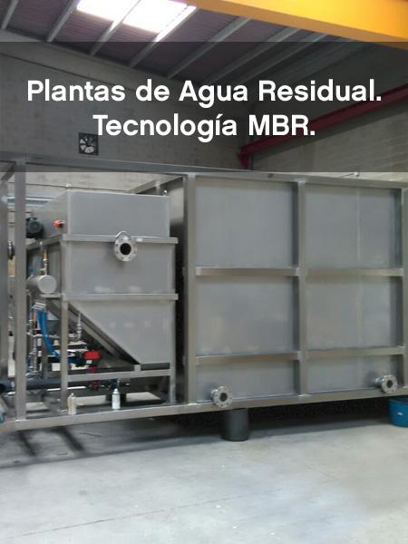 Bidatek Plantas de Agua Residual MBR
