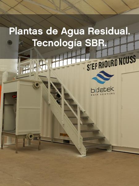 Plantas de Agua Residual con Tecnología SBR Bidatek